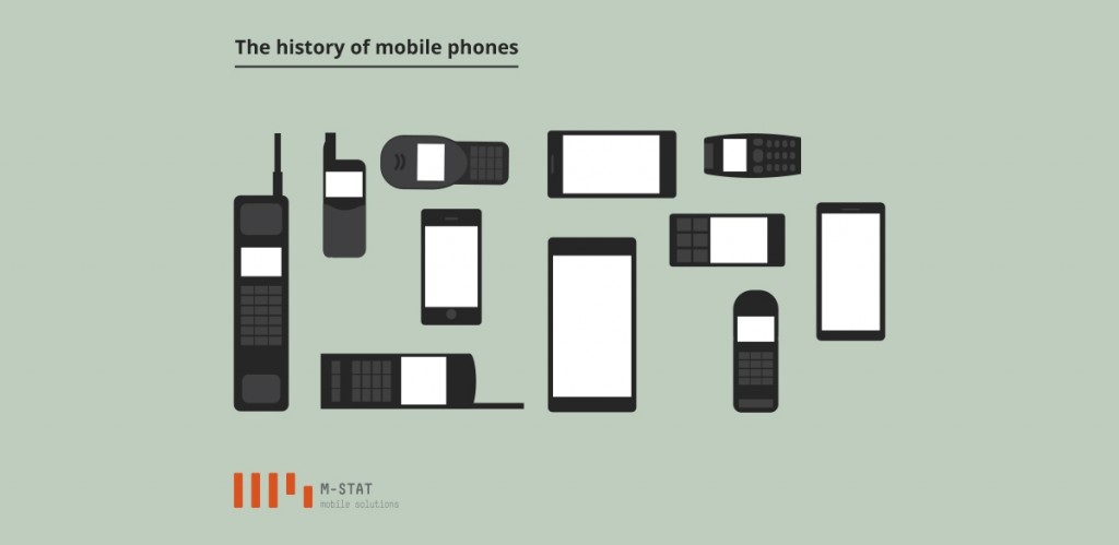 the history and evolution of the cell phone From bricks to brains: the evolution of the cell phone for years, nokia and motorola ruled the cell phone industry but that all changed with the development of the smartphone.