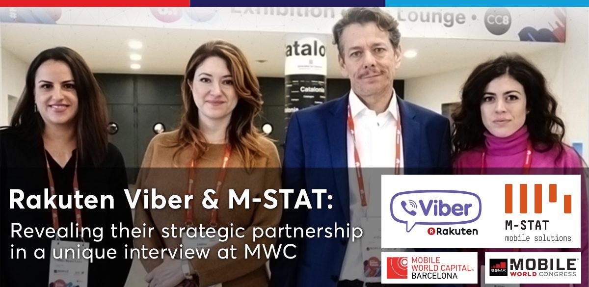 Μ-STAT & Viber: A unique interview at MWC | M-STAT S A
